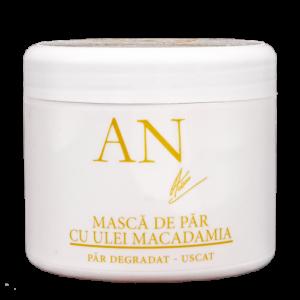 Mască Ultra Hidratantă Păr Deteriorat cu ulei Macadamia (MASCA PAR MACADAMIA 500GR)